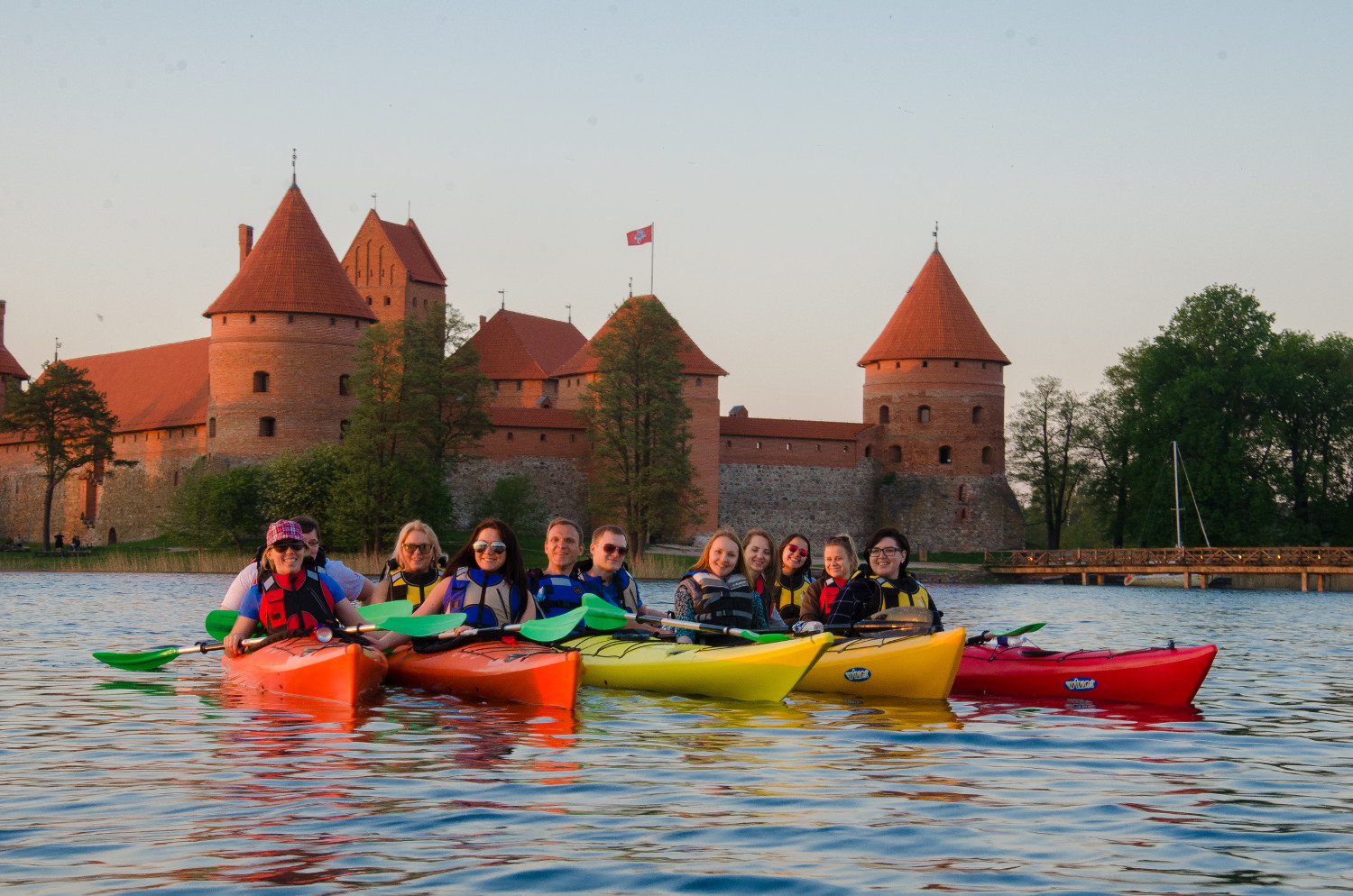 kayak_trakai_sunset_tour1